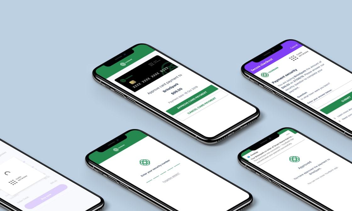 Mobile app design screenshot.