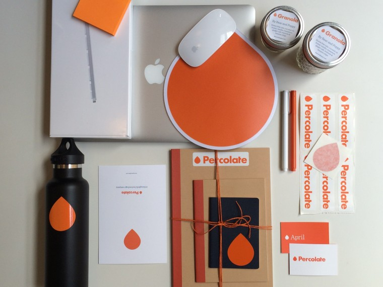 Percolate welcome package