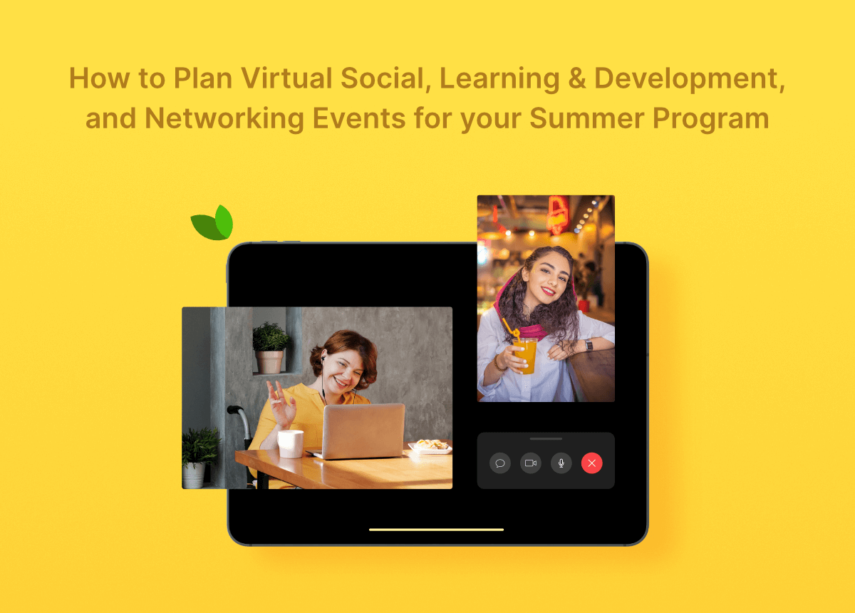Flo Recruit virtual event ideas article cover