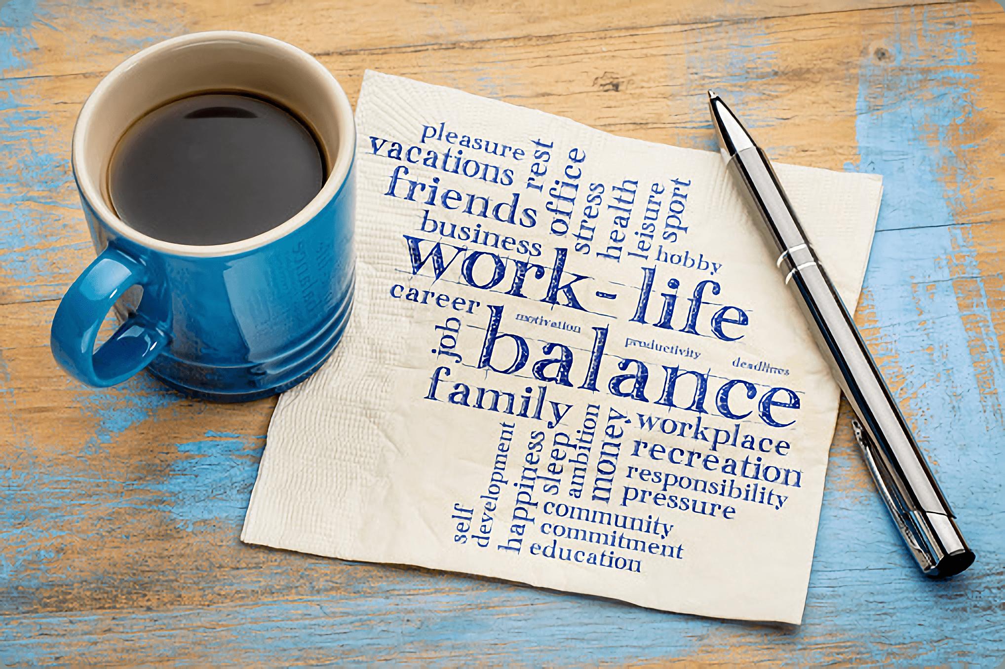 Work life balance is essential