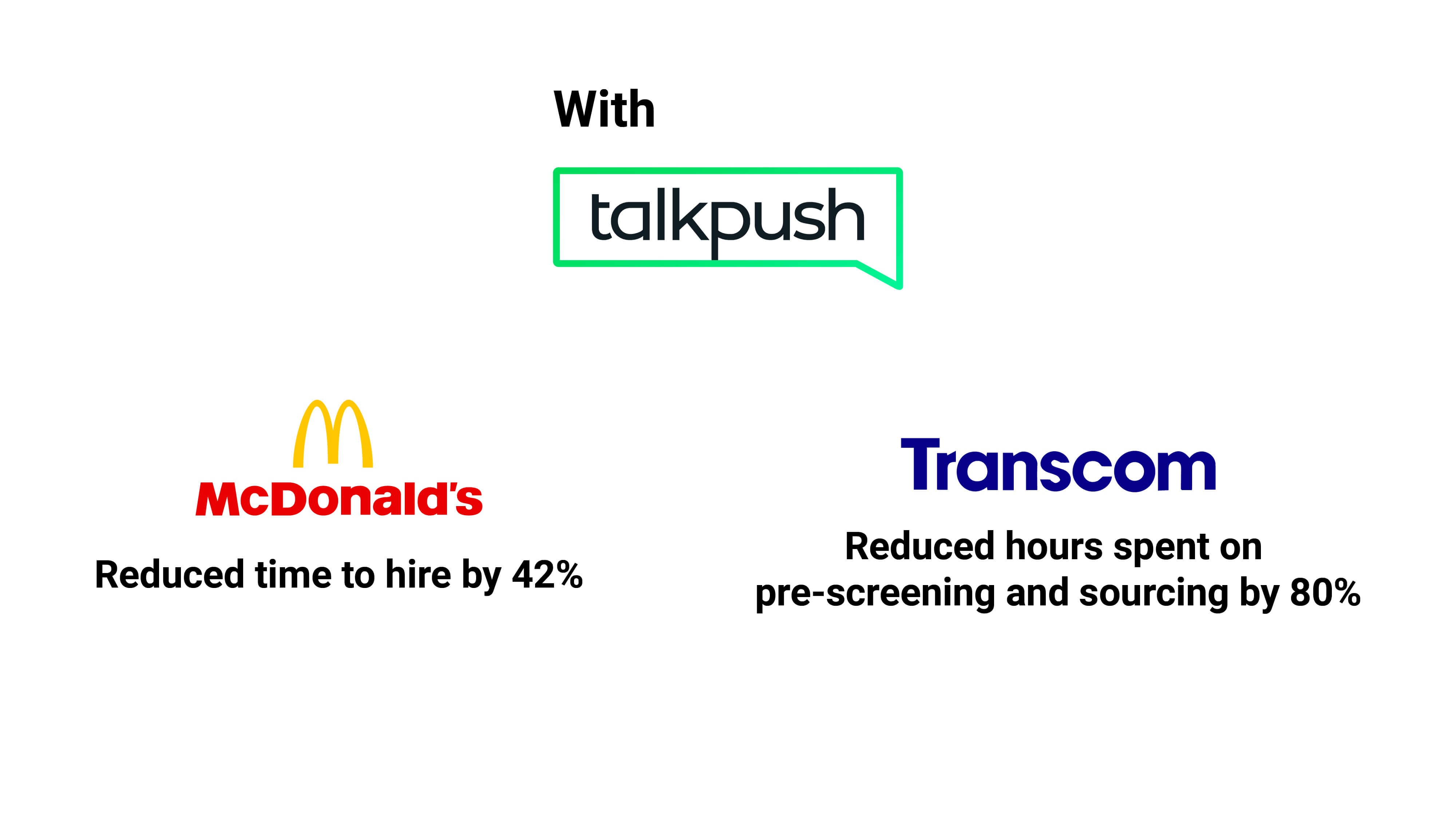 How automation saved time for McDonald's and Transcom