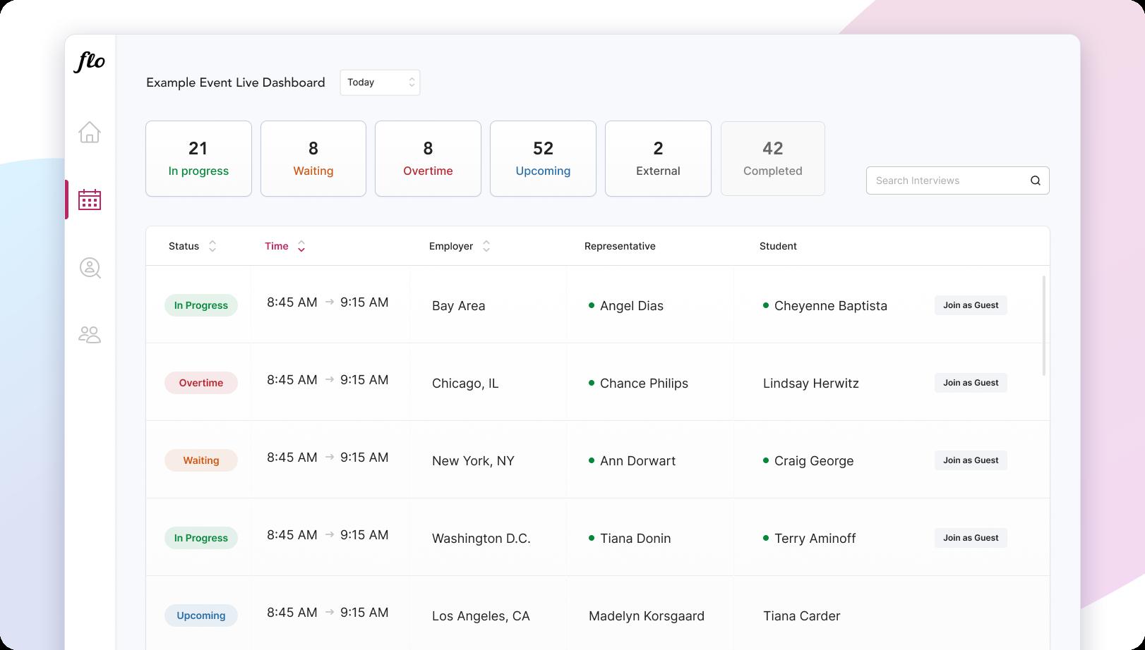 Live Dashboard Small Screen enhancements