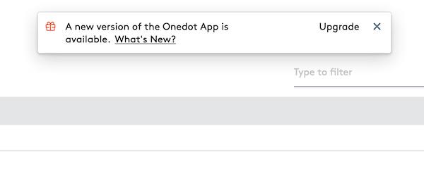 In-App Plattform Neuigkeiten