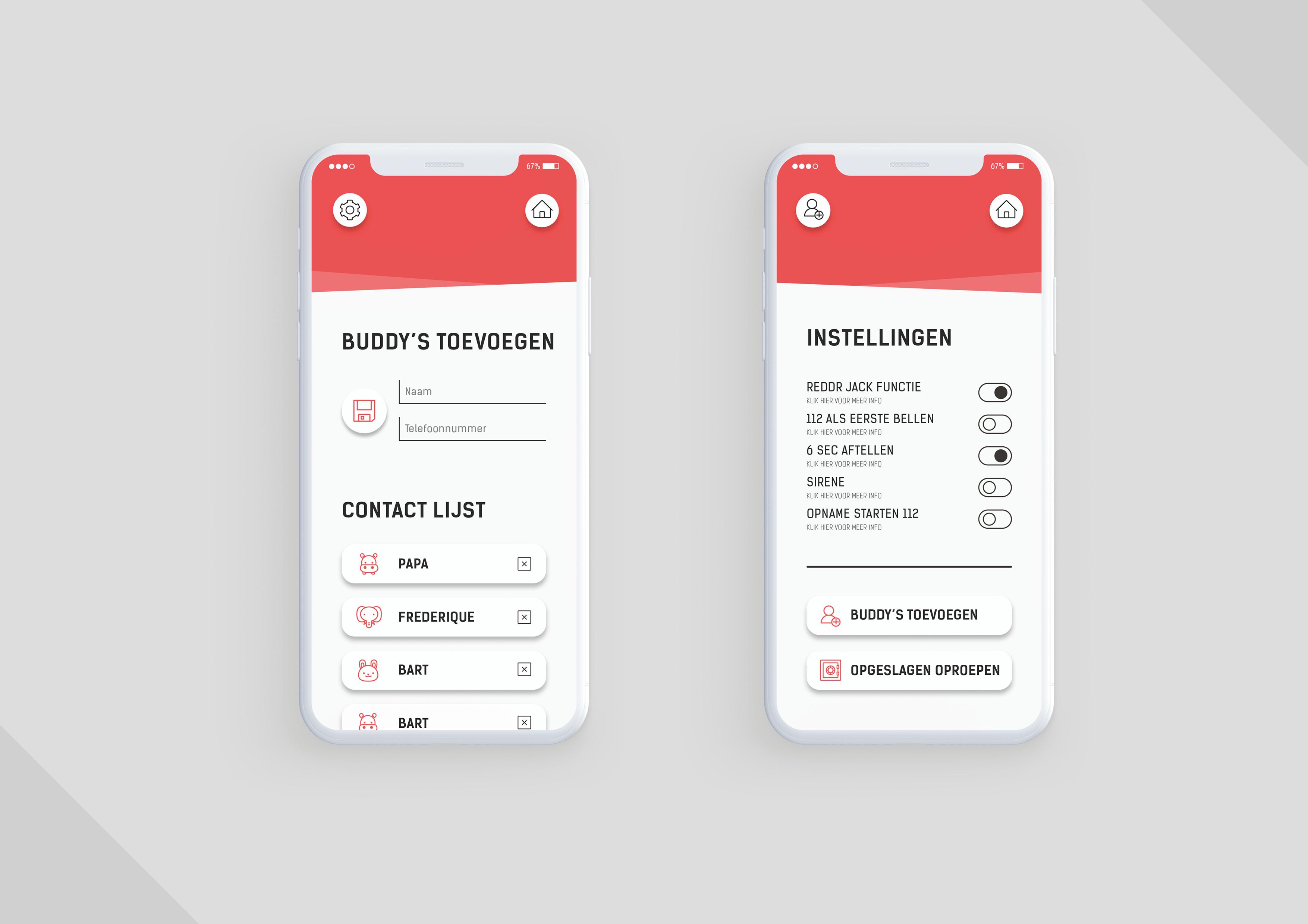 Studio Zakmes Reddr App design