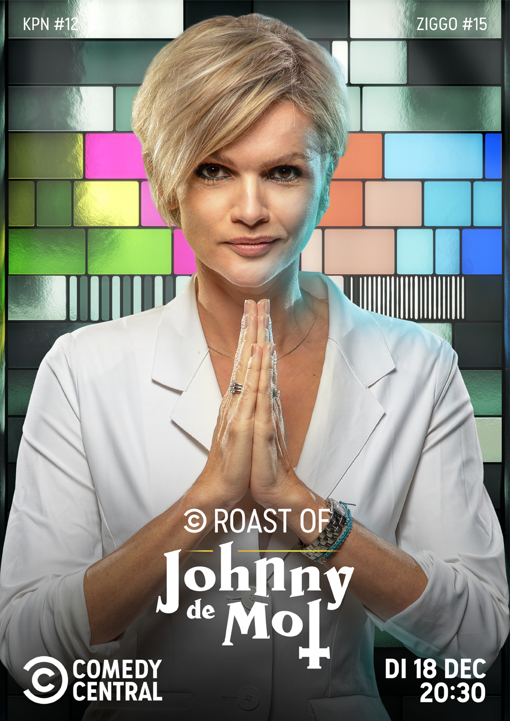 Tooske Ragas The Roast of Johnny the Mol Comedy Central