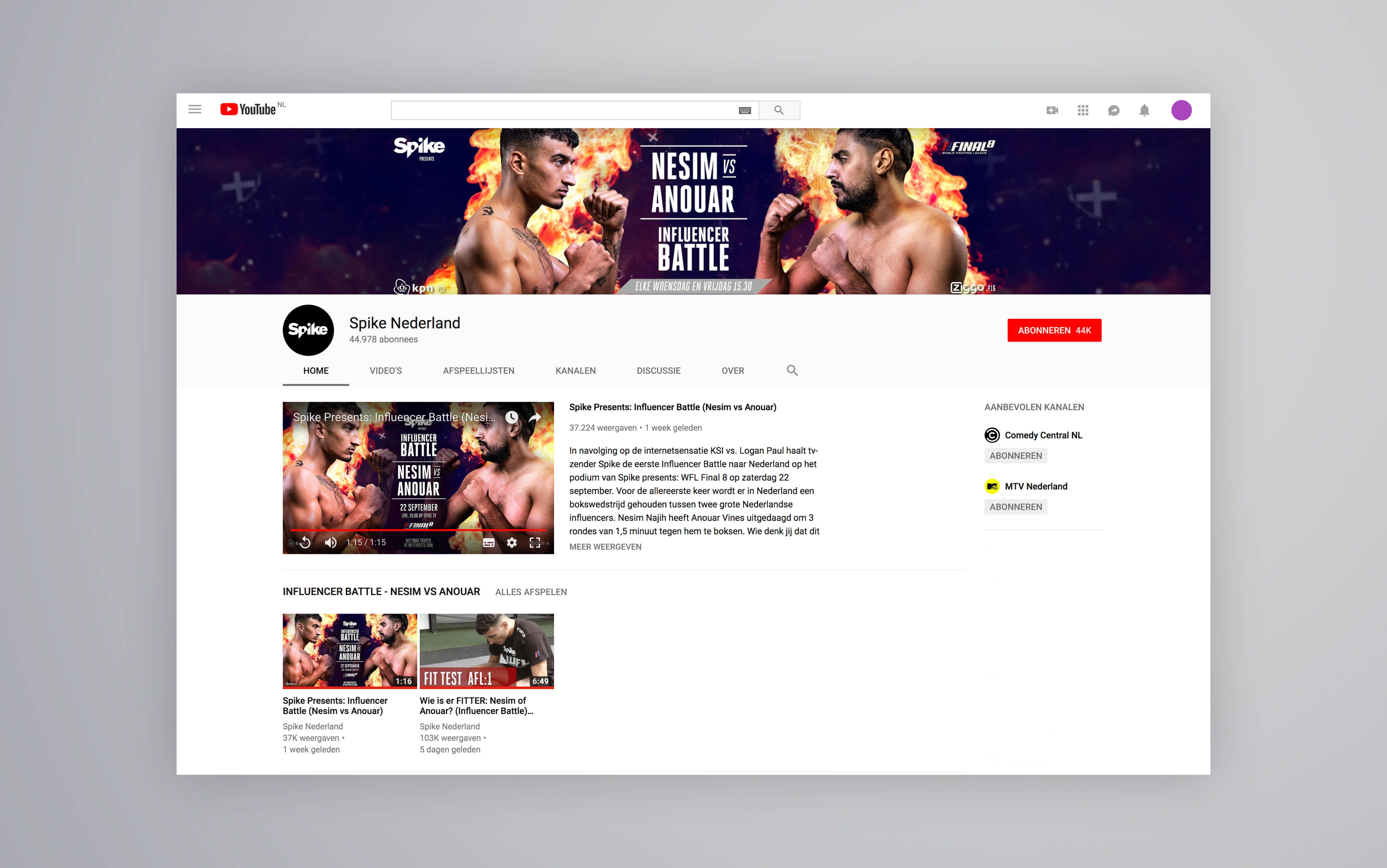 Studio Zakmes Nesim Nesim Najih Influencer Boxing