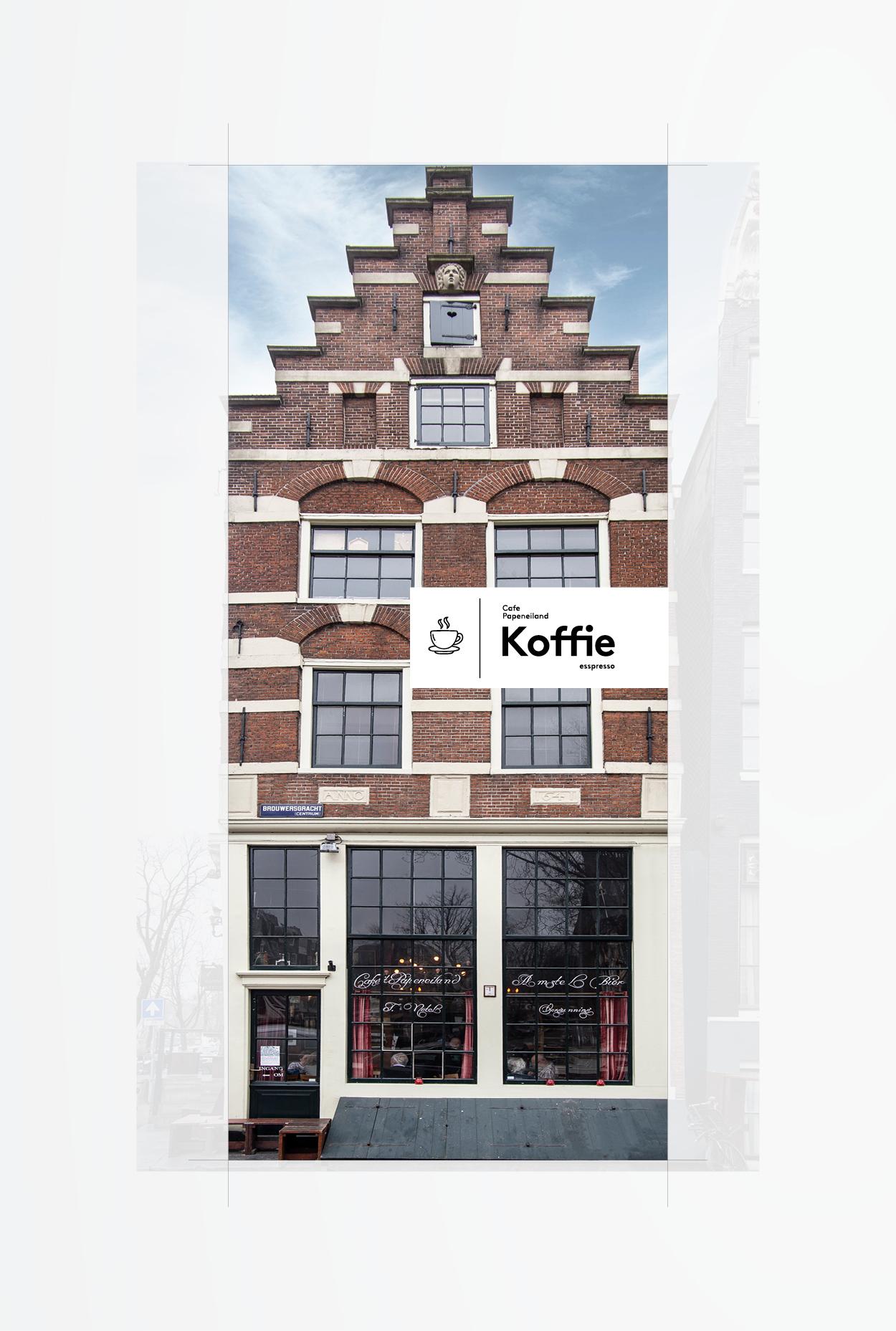 Studio Zakmes Papeneiland Koffie Packaging