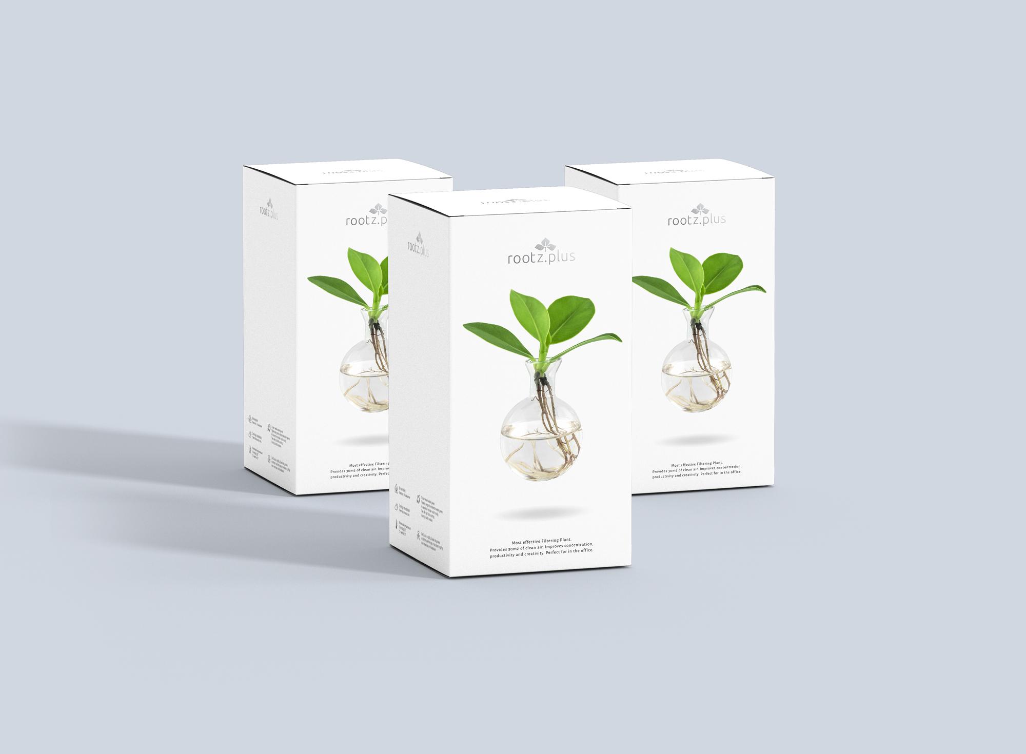 Rootz.plus packaging