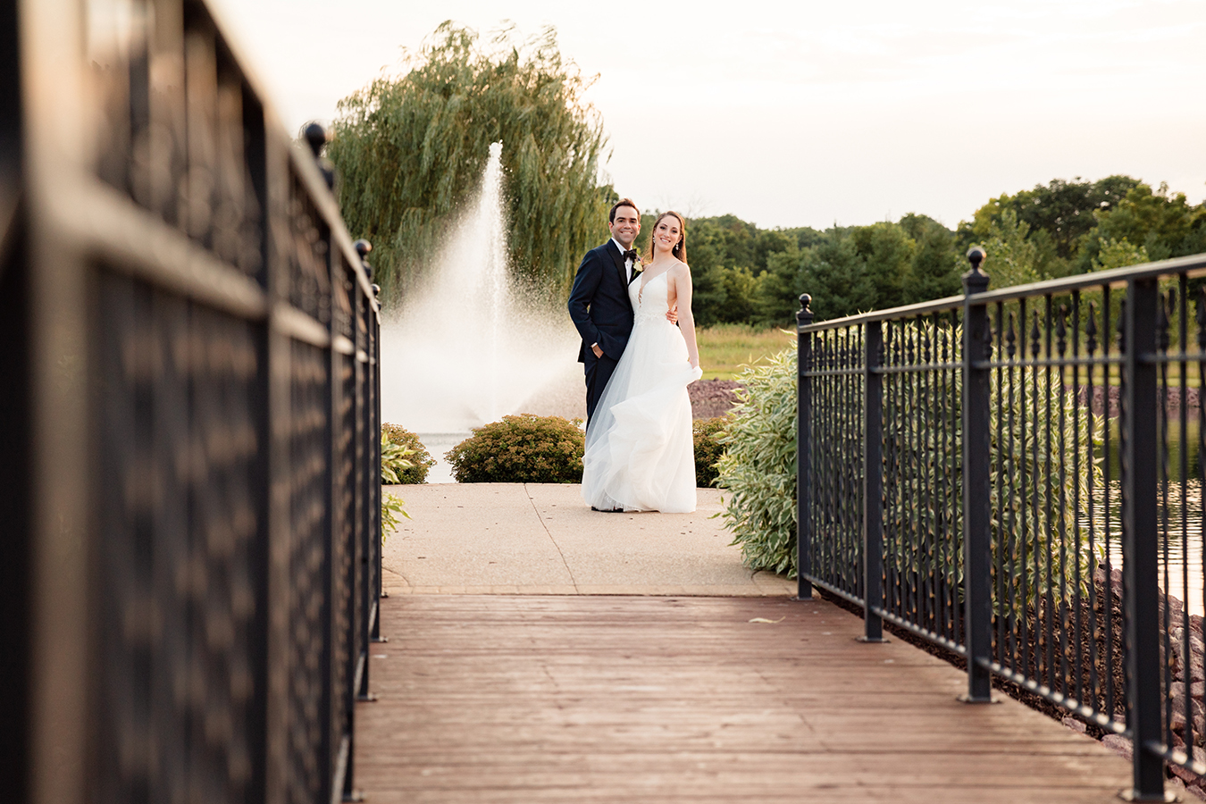 gorgeous scenery bridal at the pavilion in orchard ridge farms