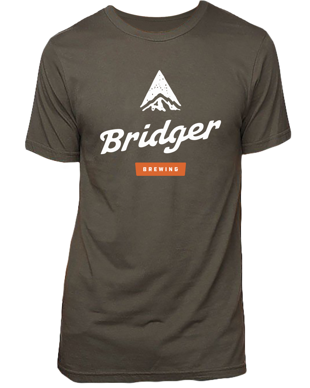 Made of viscose hemp and organic cotton, this unisex logo t-shirt is sustainable, environmentally friendly and super soft. It features the primary Bridger Brewing logo on the front and the smaller stamp logo on the upper back.