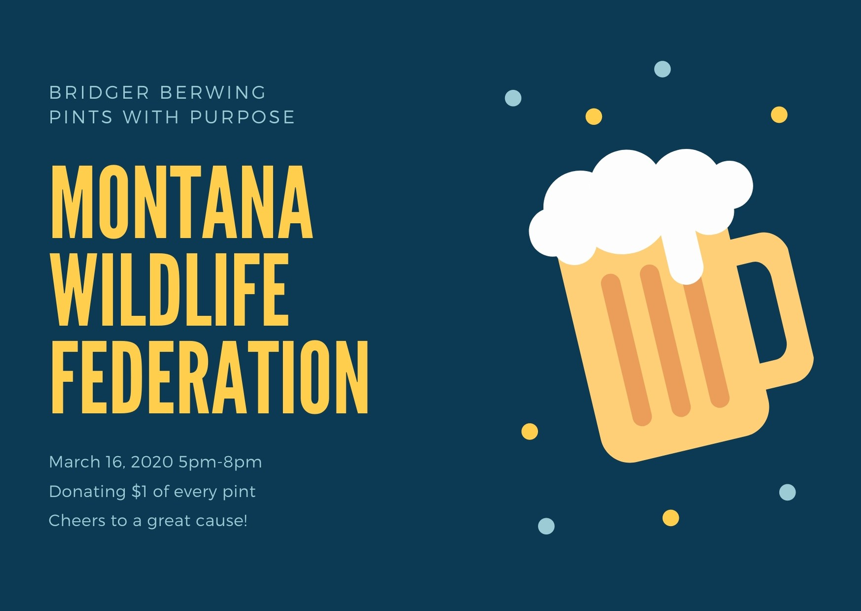 Pints with Purpose · Montana Wildlife Federation
