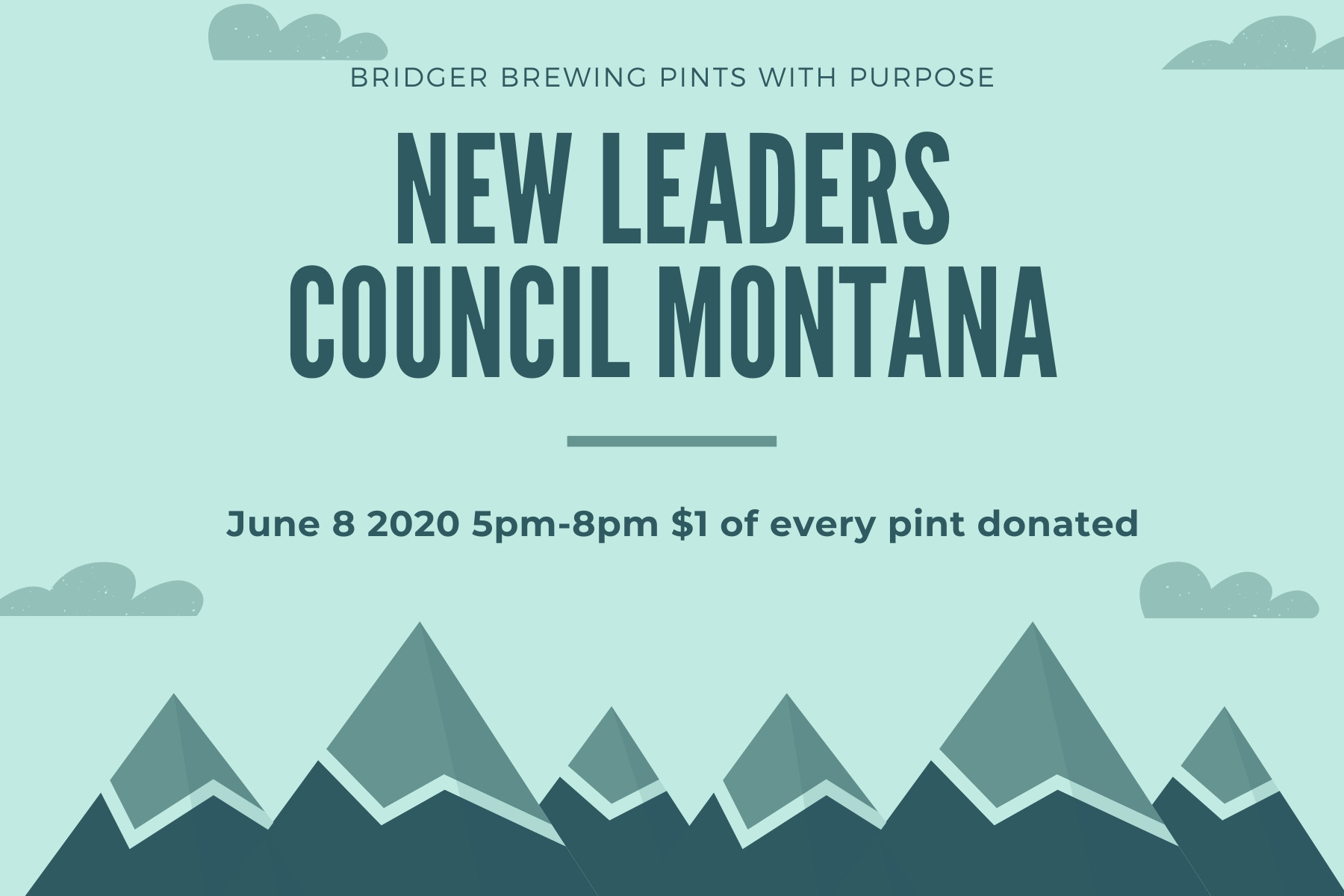 Pints with Purpose :: New Leaders Council Montana