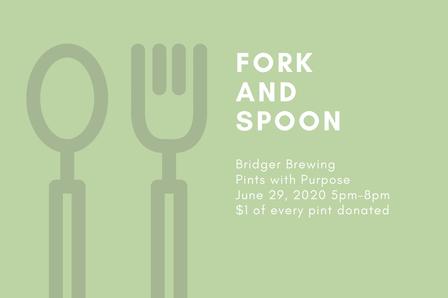 Pints with Purpose :: Fork & Spoon