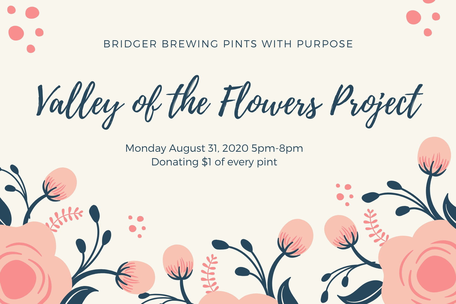 Pints with Purpose :: Valley of the Flowers Project