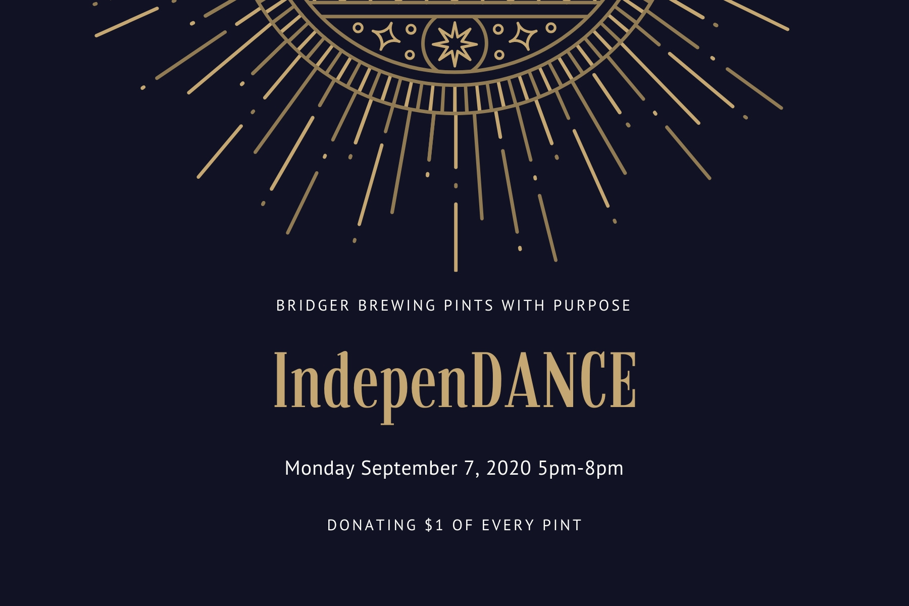 Pints with Purpose :: IndepenDANCE