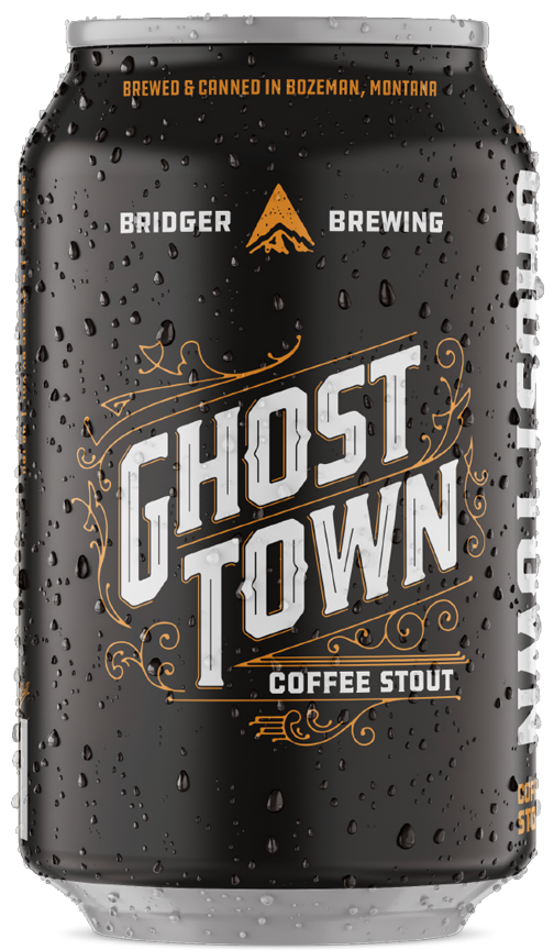 Ghost Town beer can