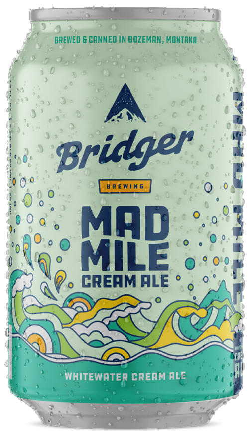 Mad Mile beer can