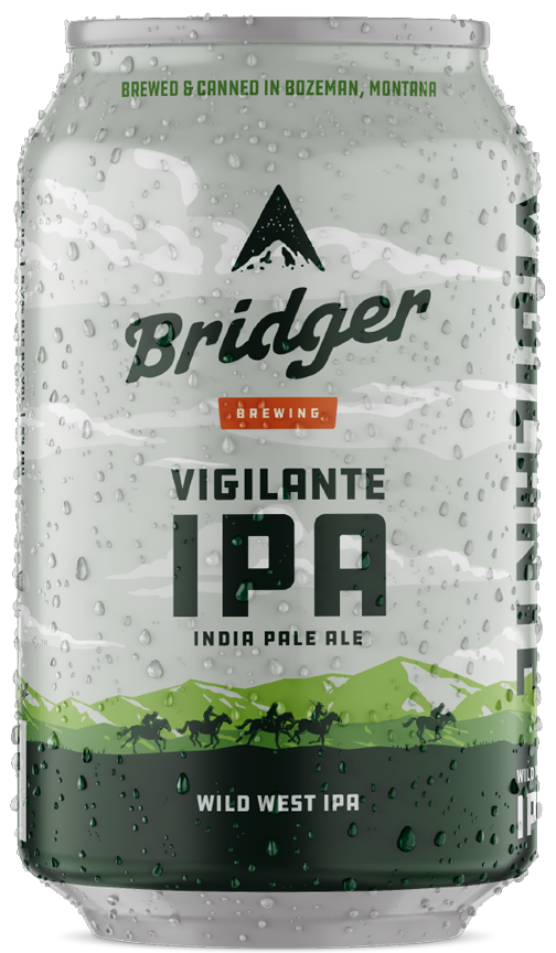 Vigilante IPA Beer Can