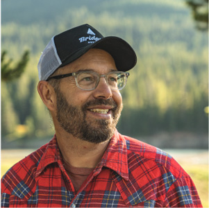Bridger Brewing owner and culinary manager Jim Eberhard