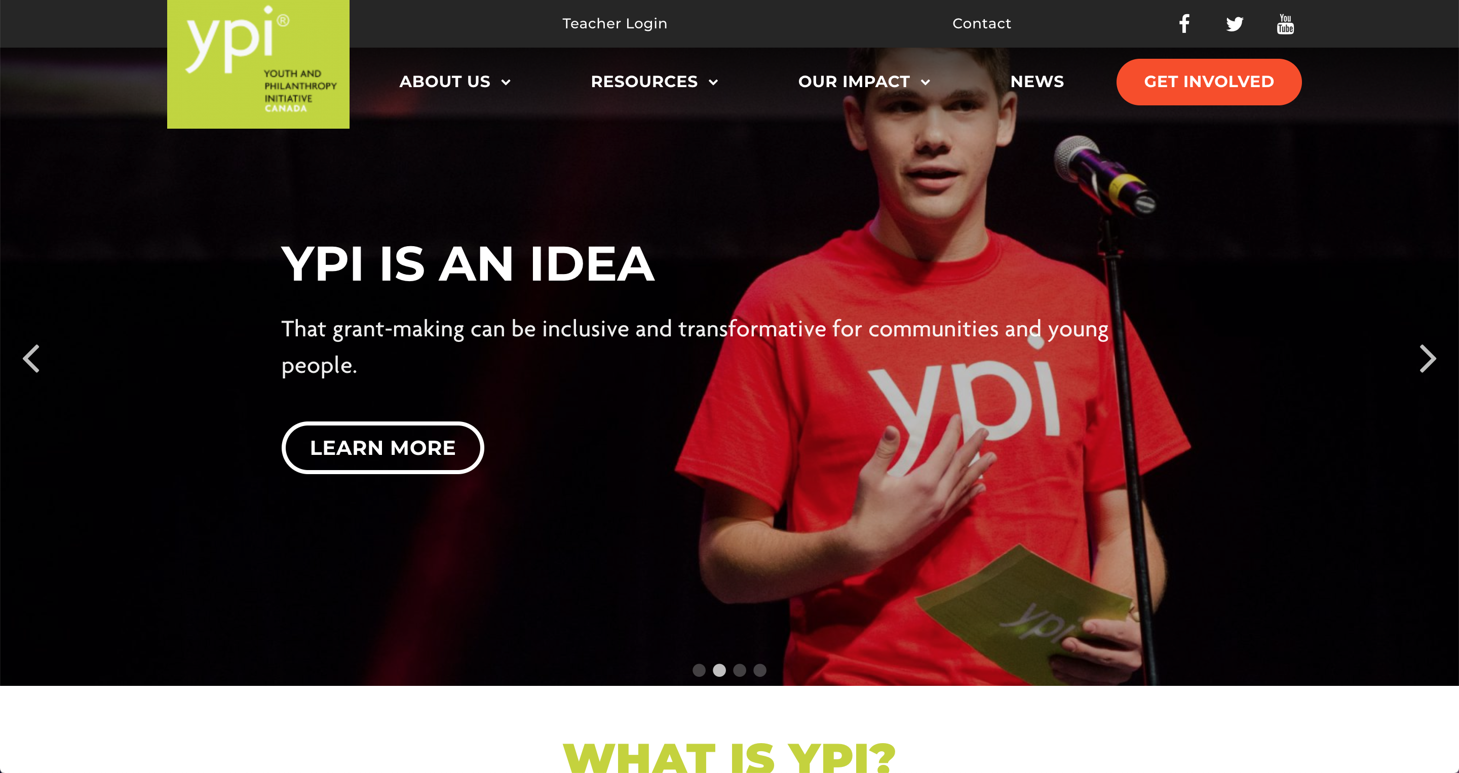 YPI homepage