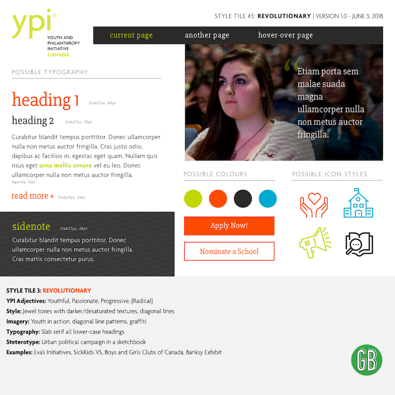 YPI Style Tile 3 - Revolutionary