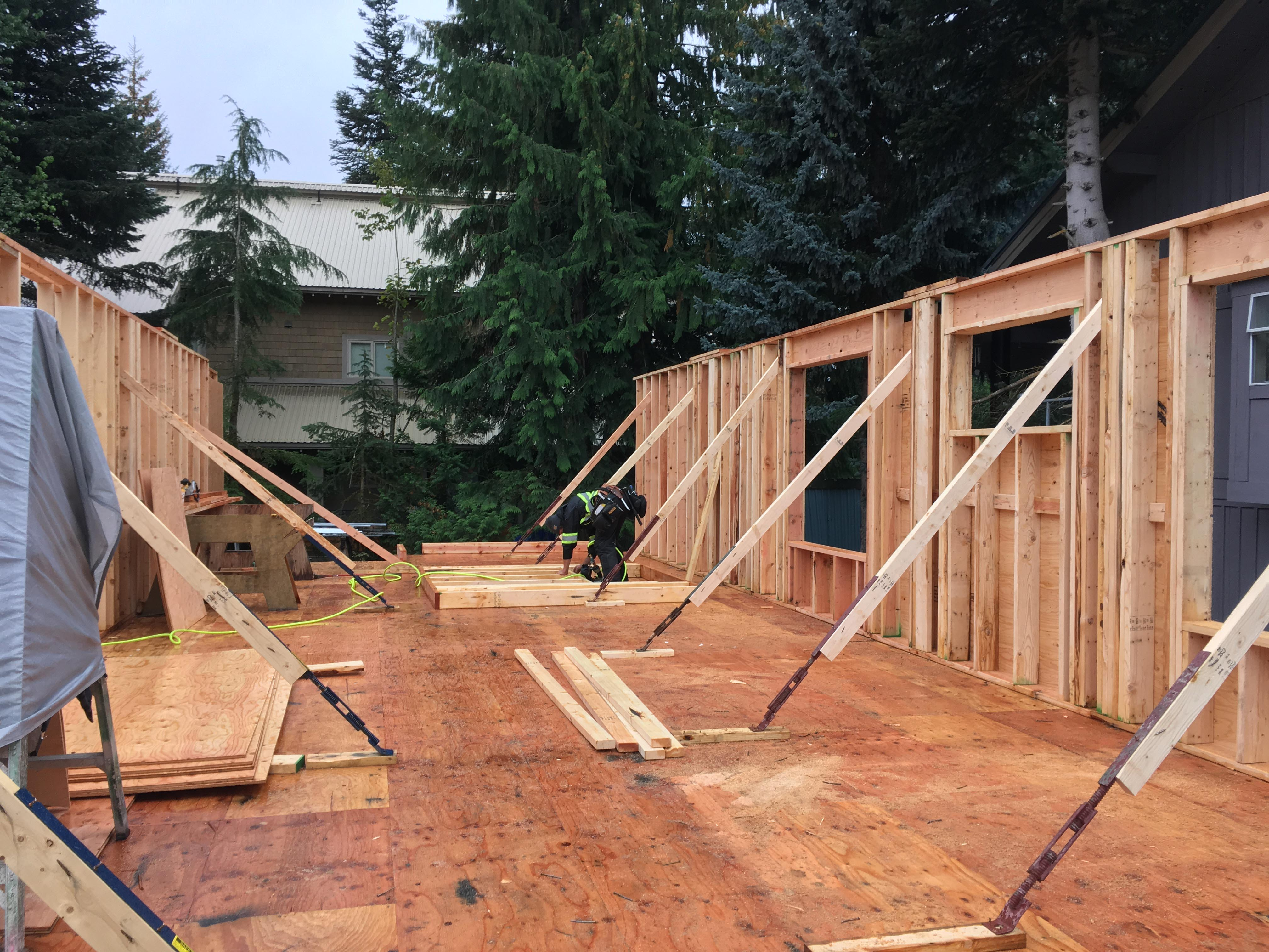 Pound 4 Pound, Framing and Forming, wall framing