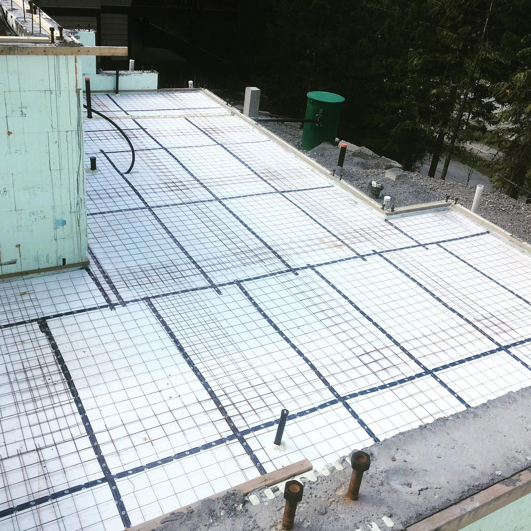 Pound 4 Pound, Framing and Forming. Concrete, Whistler