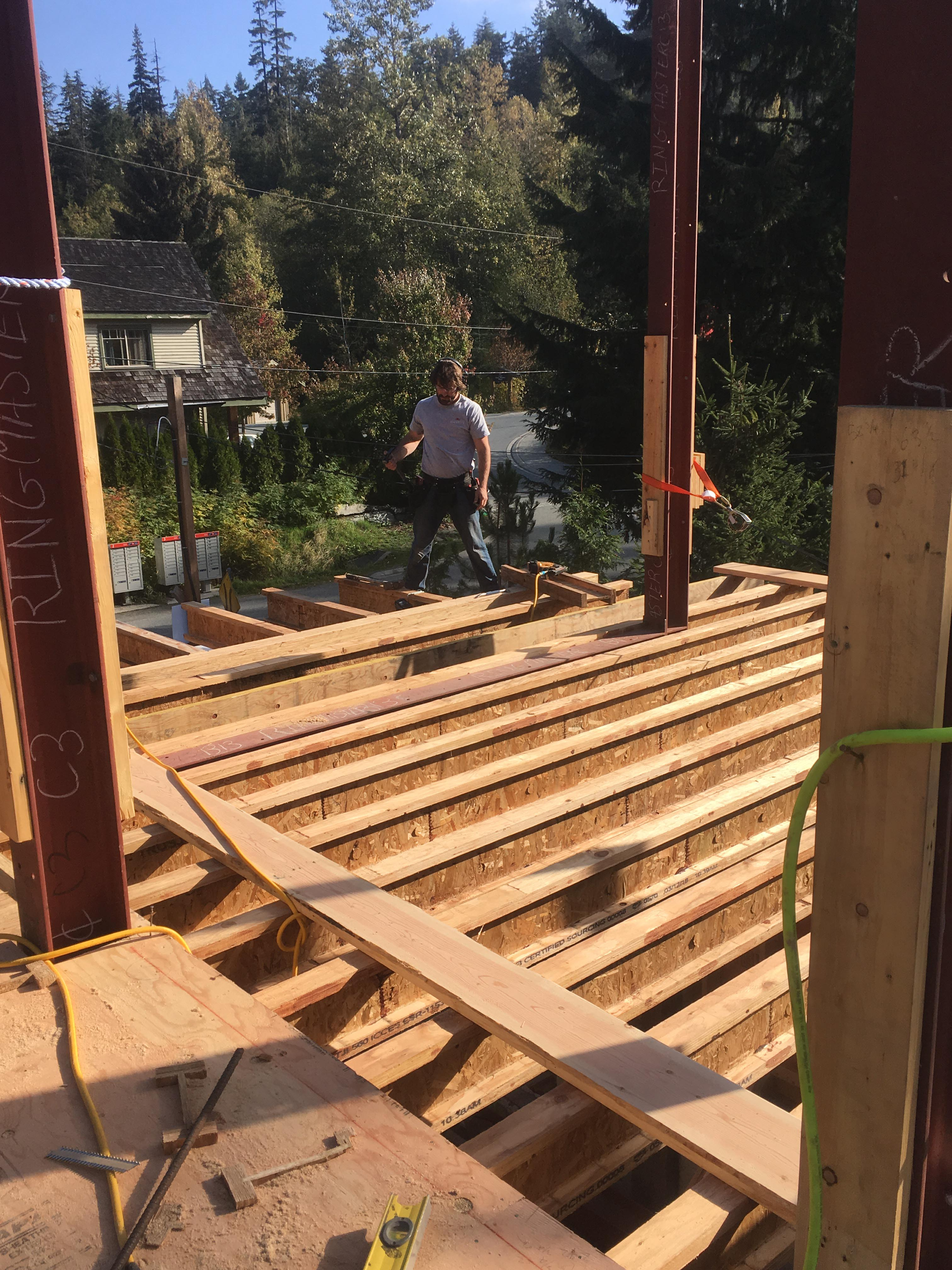 Pound 4 Pound, Framing and Forming, worker framing