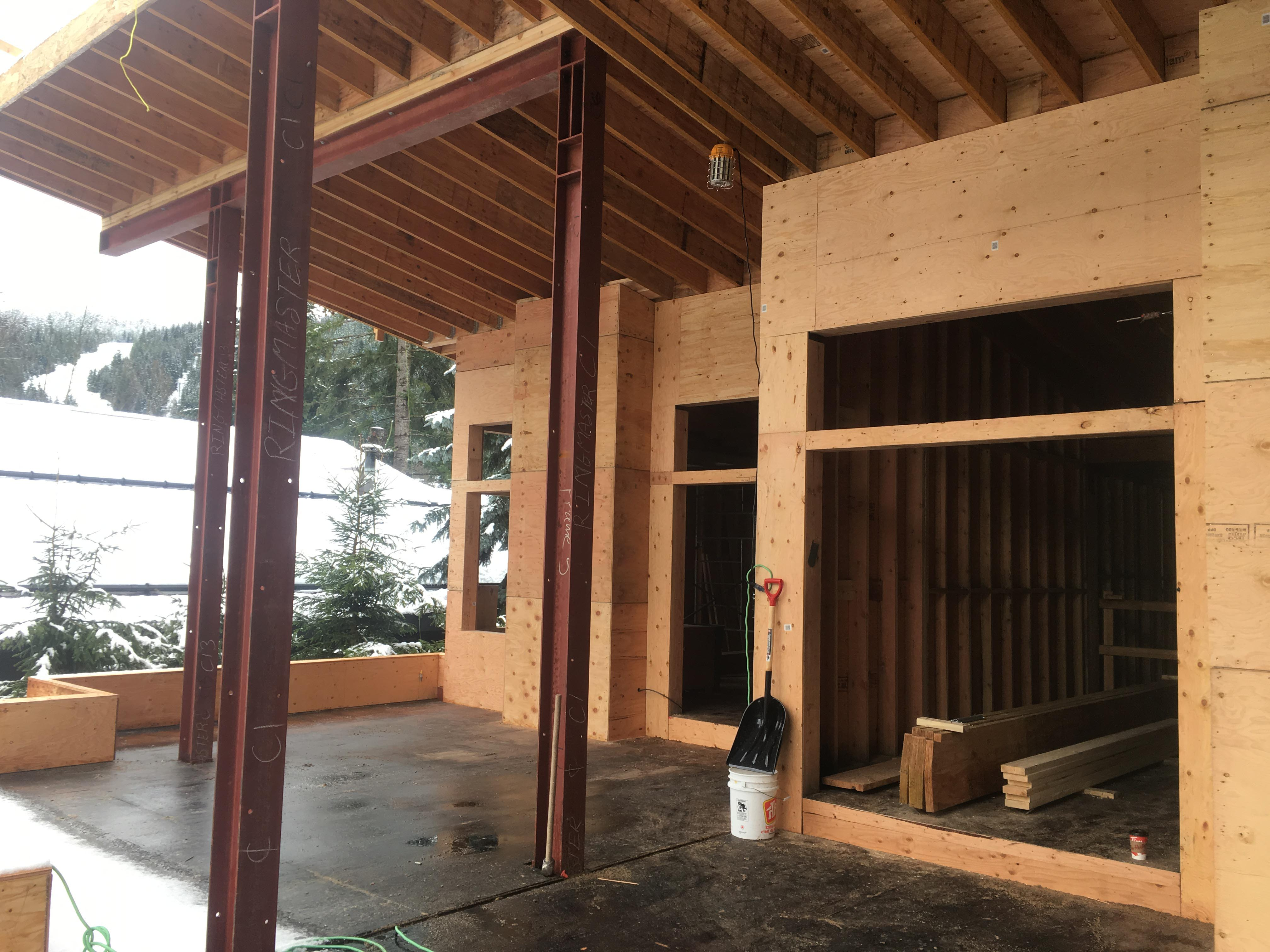 Pound 4 Pound, Framing and Forming, window framing with steel