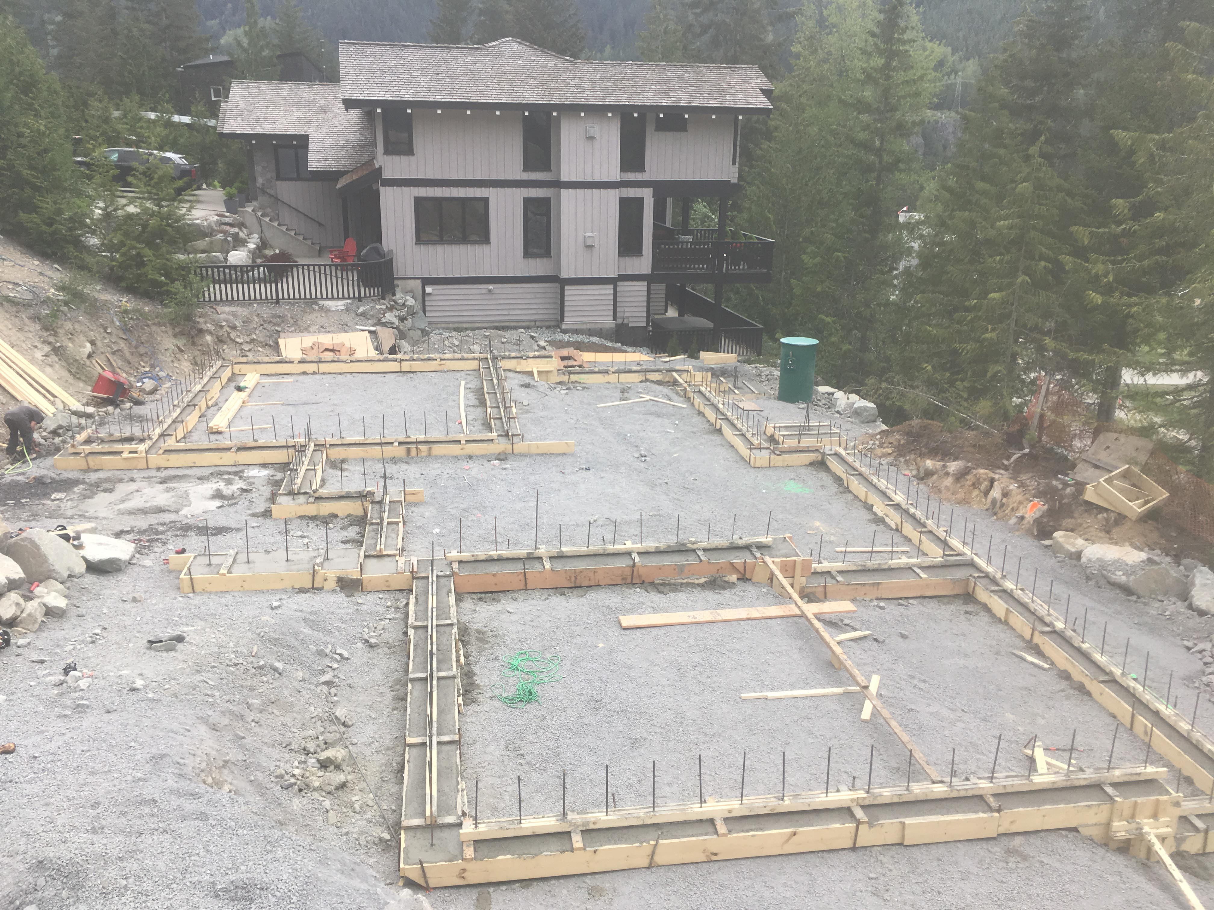 Pound 4 Pound, Framing and Forming. Foundations Whistler