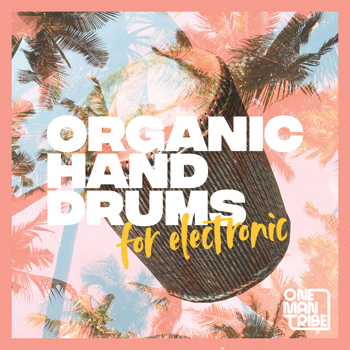 Organic Hand Drums For Electronic