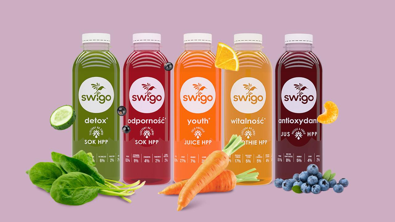 Swigo - soki i smootkie HPP