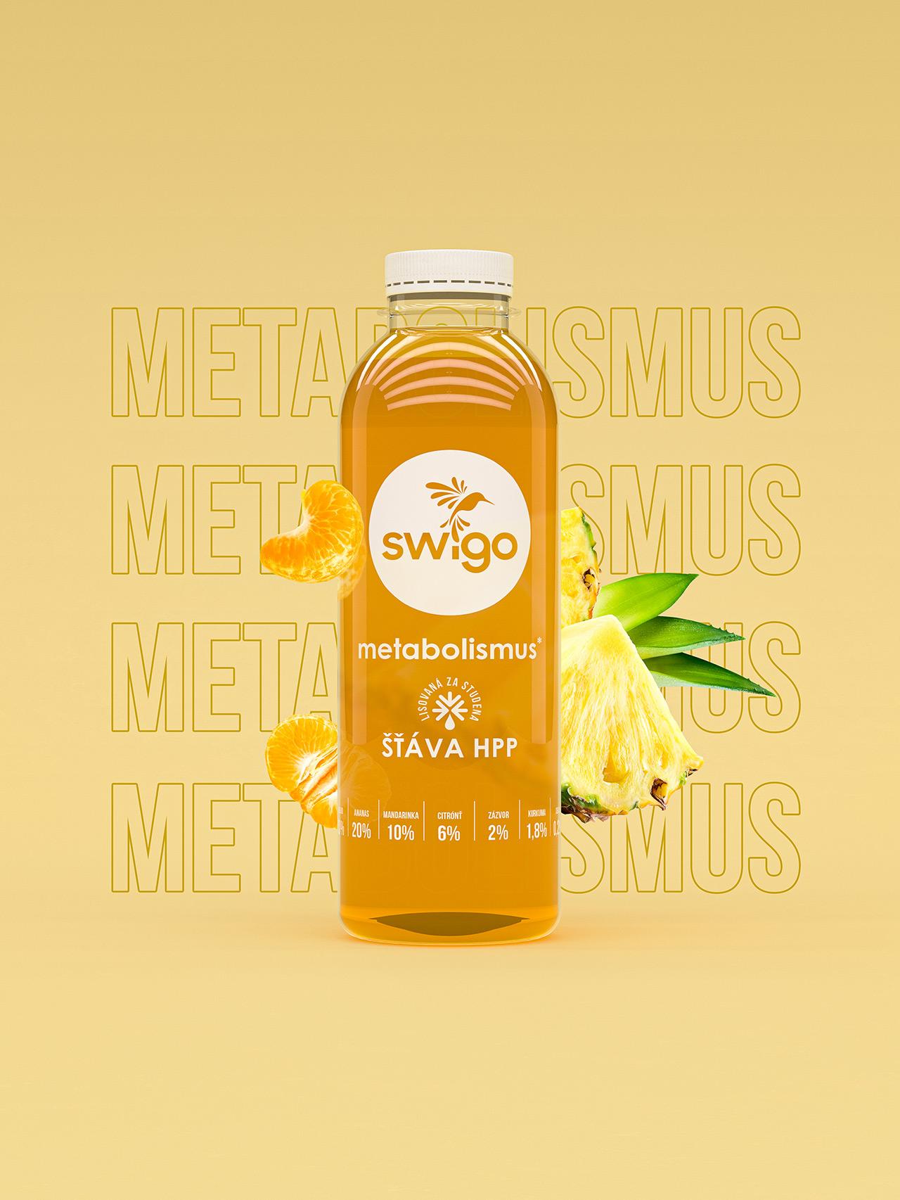 Swigo - metabolizm