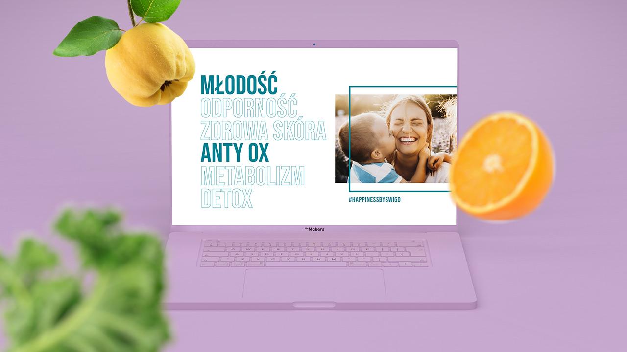 Swigo - przykład projektu strony www
