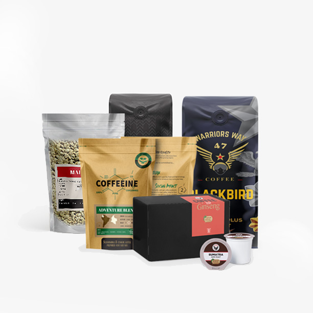 Coffee Packaging banner by ACCS Design