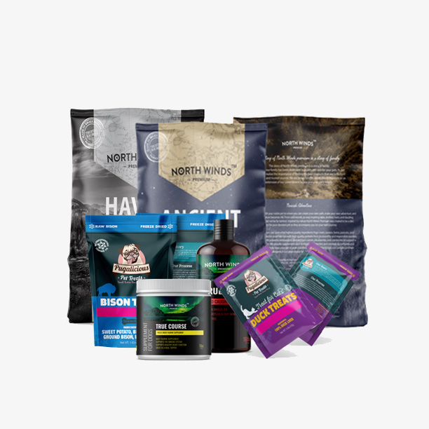 Pet Food Packaging banner by ACCS Design