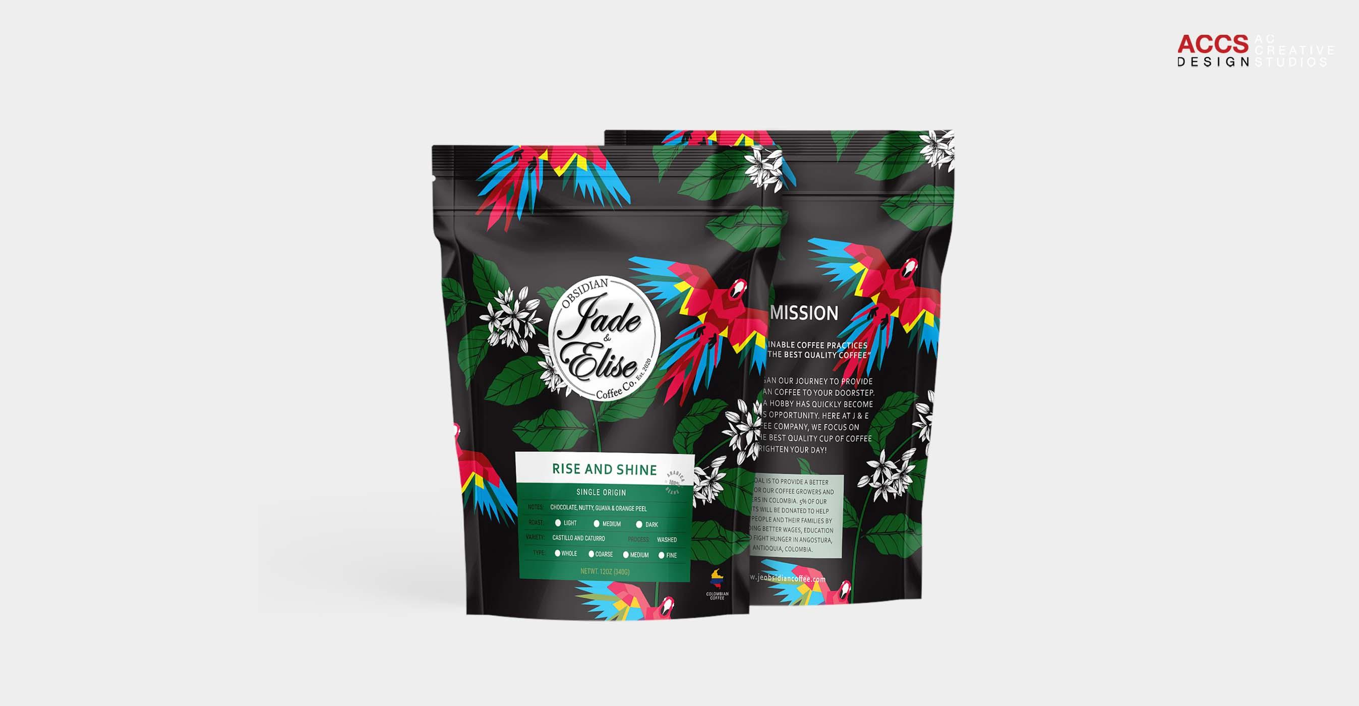 Jade and Elise Obsidian Coffee
