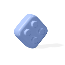 product building icon blue