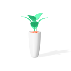 digital growth marketing icon plant