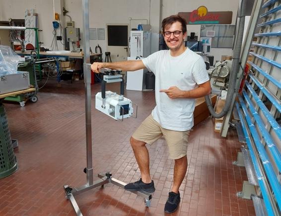 portable x ray machine with marcello da col