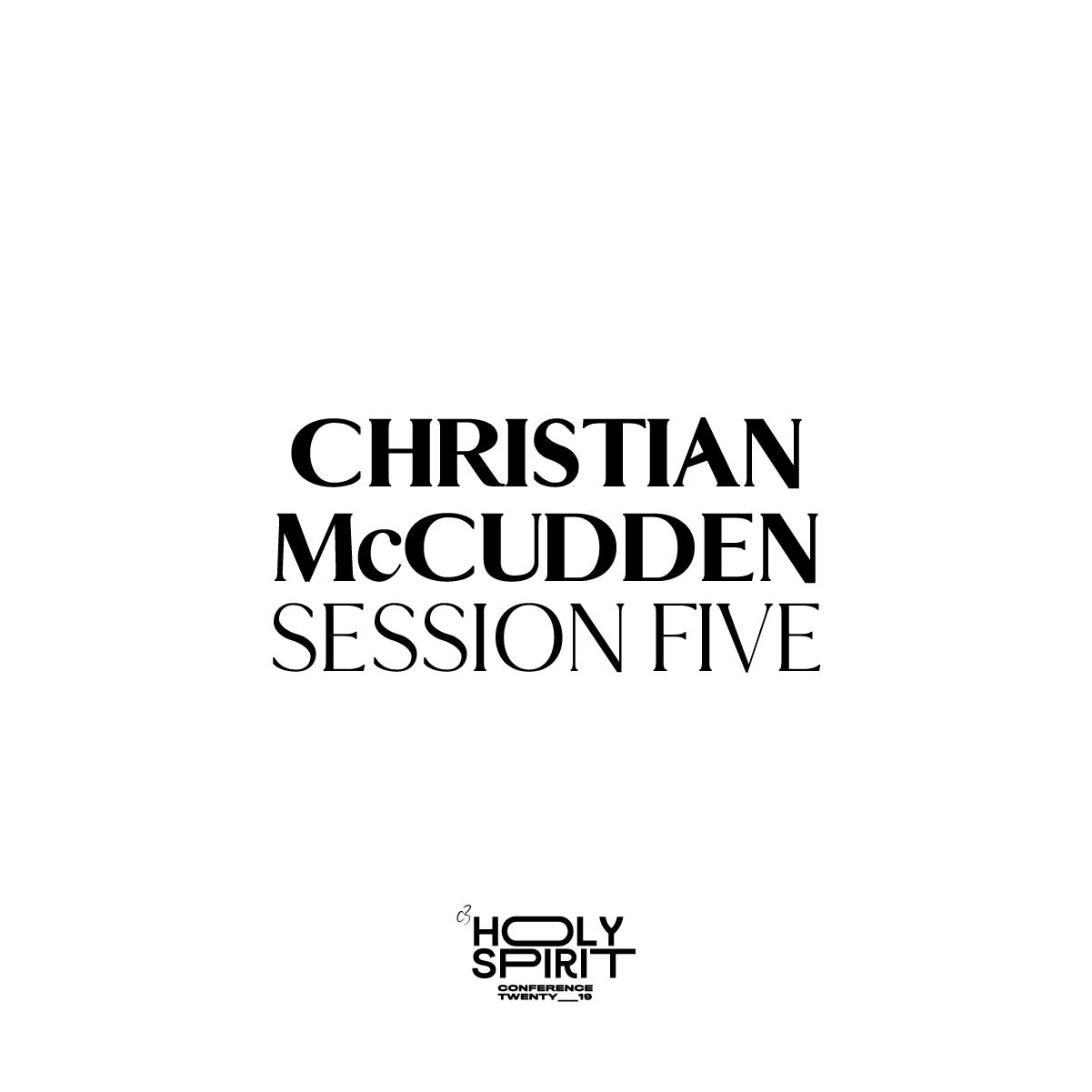 Session 5 - Christian McCudden