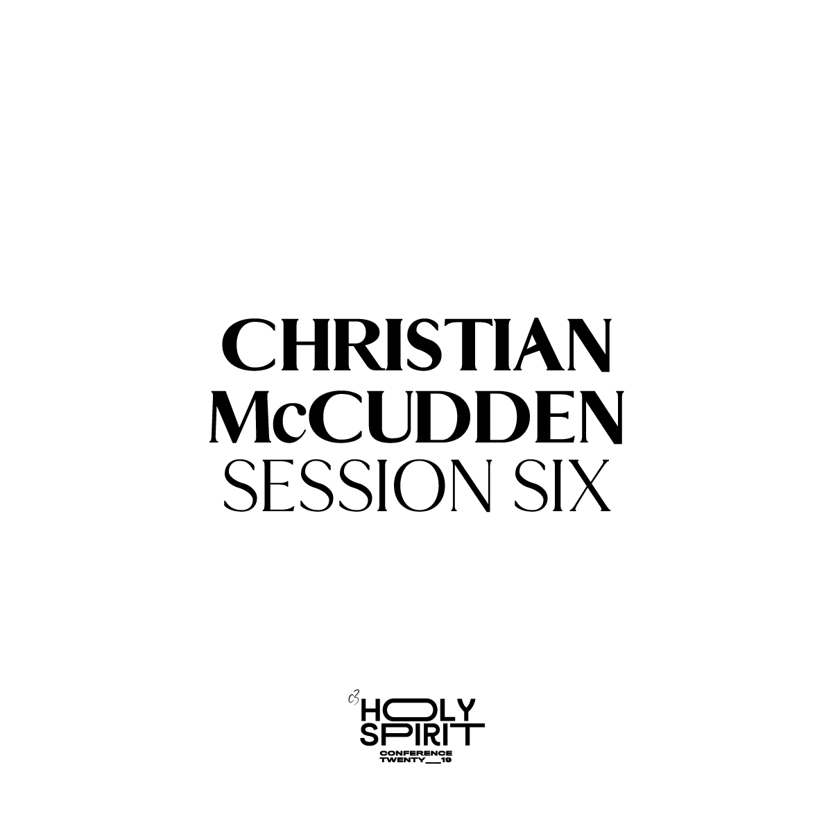 Session 6 - Christian McCudden