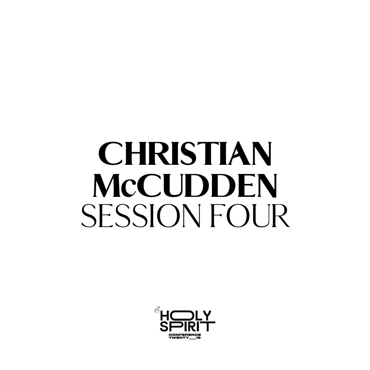 Session 4 - Christian McCudden