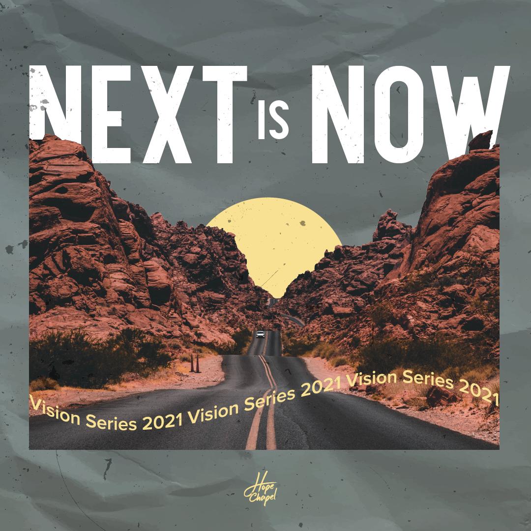 "Next is Now // Ps Joel Fryett ""What Next?"""