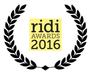 a wreath containing r i d i award