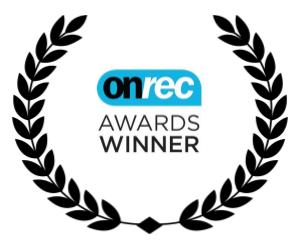 a wreath including on r e c best technical innovation award