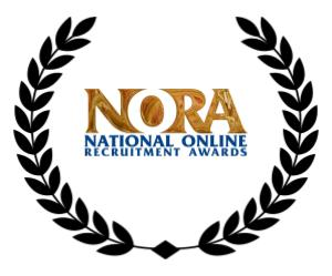a wreath including n o r a best newcomer award