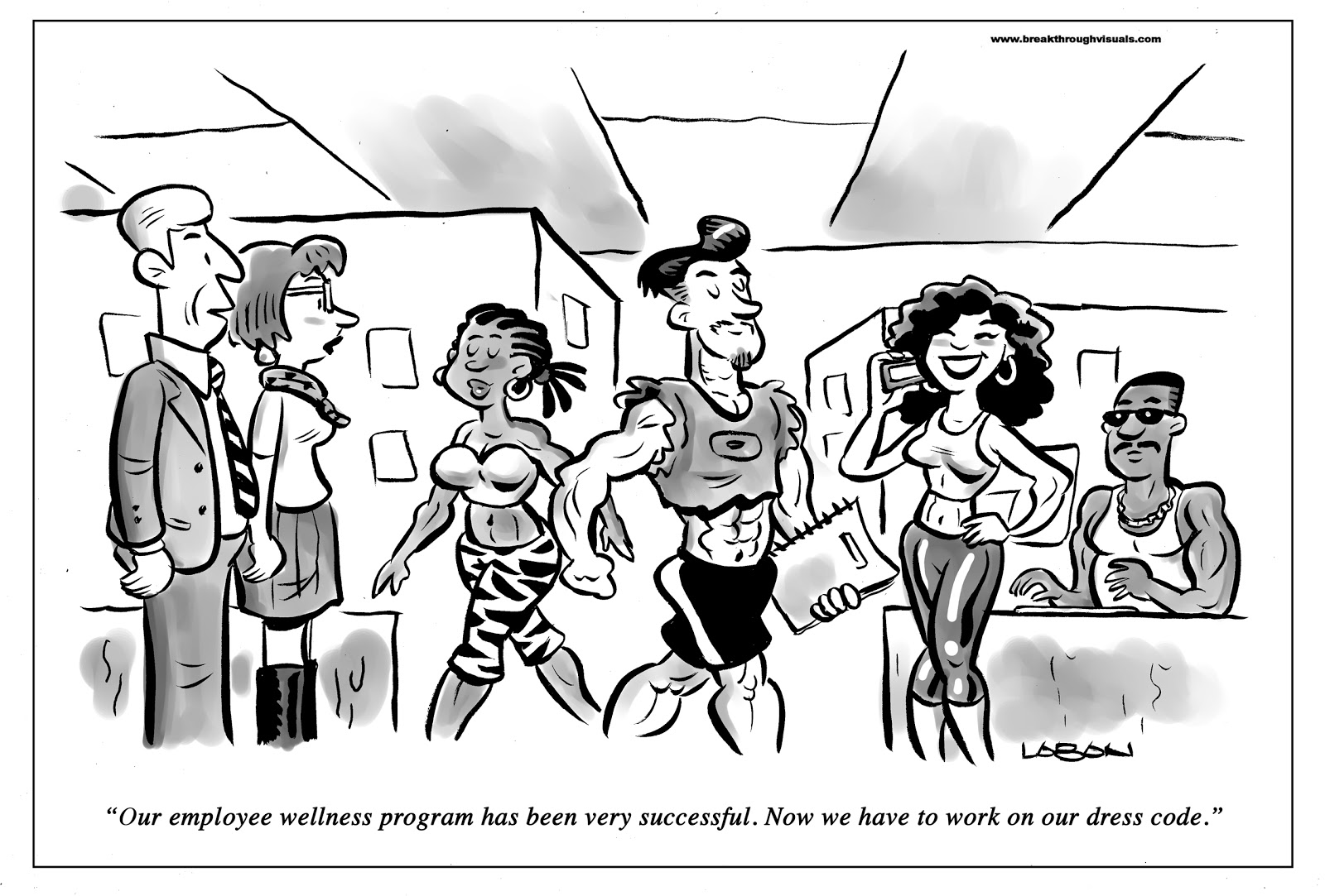 Employee wellness programs get decent results, as long as the workplace doesn't start smelling like a gym.