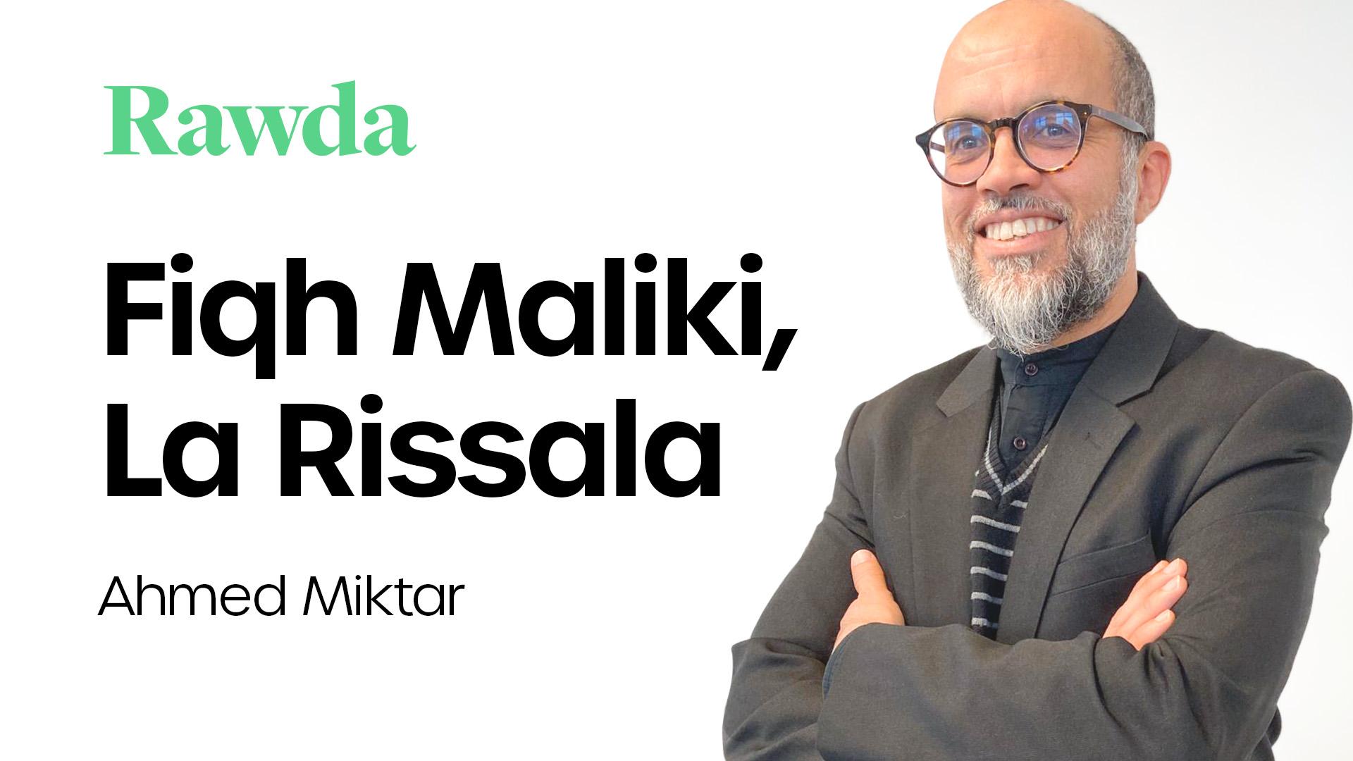 Miniature du cours : Fiqh Maliki, la Rissala