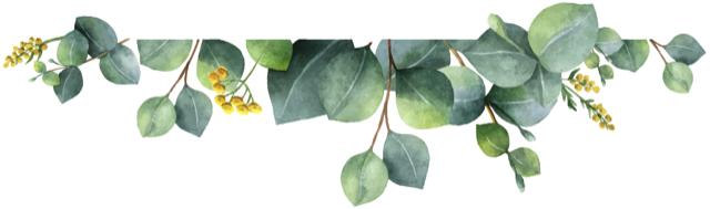 Décoration de feuilles partie basse